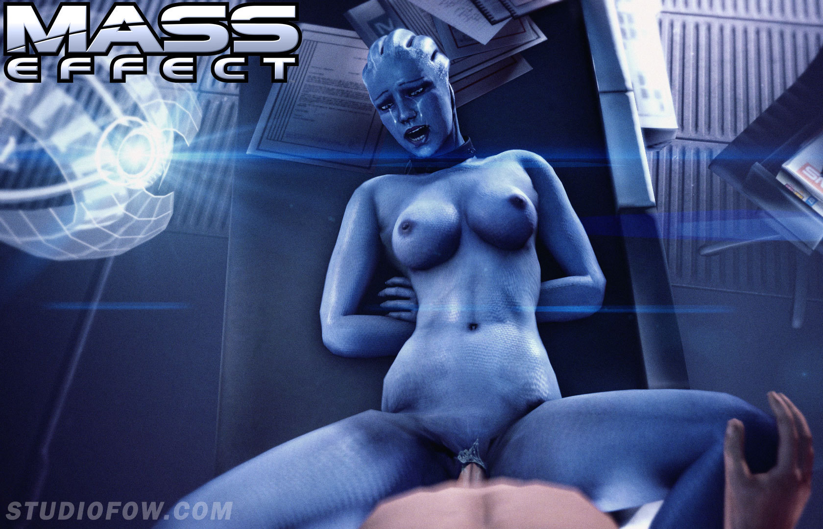 Mass effect 3d hentia naked sensual porn star