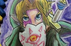 Link (Majora´s Mask) - SPEED PAINT in Pastel