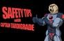 Captain Tardigrade: Safety Tips