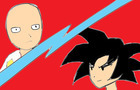 Saitama vs Goku (short fan animation)