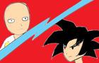 Saitama vs Goku (short fan animation)