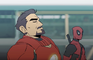 Deadpool - Super Hero Landing (Short Animation)