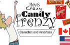 [Candy unboxing animation] Canadian and American candy: Hoyt's crazy candy frenzy - Moose Lord
