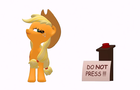 ApplePie Cartoon _ Do not press