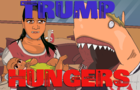 Donald Trump Eats Live Immigrant Baby!?