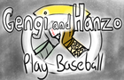 Hanzo and Genji Play Baseball