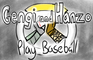 Hanzo and Genji Play Baseball