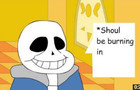 should be burning in hell (Undertale Short Animation) re
