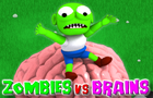 Zombies vs Brains by SilenGames