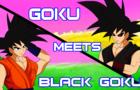 Goku Meets Black Goku