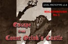 Walkthrough 1 - Escape from Count Orlok's castle