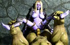 Whorelords of Draenor - Sylvanas ass defeated by Orc 1