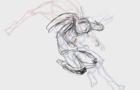 Valbe - Paraíso Tras la Primavera - Time Lapse 01 (Animation Process)