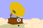 PhonographClock Explores A Desert.