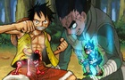 Monkey D. Luffy v.s. Rock Lee