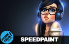 HIPSTER SELFIE - Speedpaint