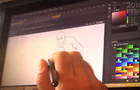 Animation process 1 'He is risen'
