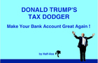Donald Trump's Tax Dodger