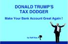Donald Trump's Tax Dodger