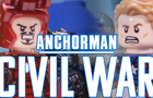LEGO Anchorman: Civil War by SpastikChuwawa