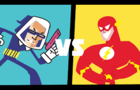 The Flash V Captain cold
