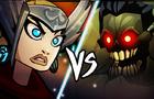 She Thor vs Zombie Hulk (marvel fan film)