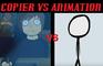 Copier vs Animation