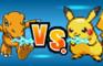FIGHTERS: Pikachu vs Agumon