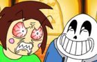 Sans taunts Chara (Undertale Animation)