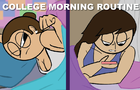 ANDRE SHREVES // College Morning Routine