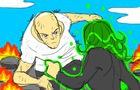 One-Punch Man - Saitama vs Tatsumaki