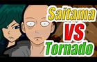Saitama VS Tatsumaki (Tornado)