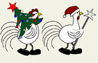 Year of the Rooster. Happy New Year!