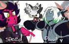 hellbent-nixxiom cosplay (speedpaint)