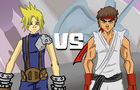Cloud Vs Ryu: Battle Arena 2