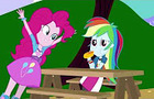 Equestria Girls The Pinkie With a Dirty Mind Lunch