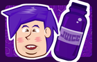 Bottle Flip Flip -Purple Juice
