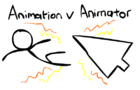 Animation vs Animator (Alan Beker Inspiration)
