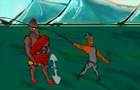 Spartan (jhondy) vs Fisherman ( Vix Viktor)