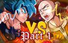 Saitama VS Goku (part 1)