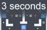 3 seconds.