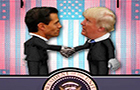 Trumps Awkward Handshakes