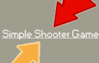 Simple Shooter/Reflexes Game