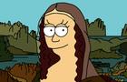 Futurama (Matt Groening) Mona Lisa