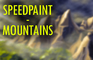 Speedpaint - Mountains