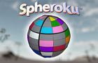 Spheroku™ color sudoku sphere