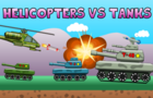 Helicopter vs Tanks