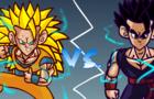 GOHAN VS. GOKU