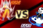 Goku Vs Sans (DBZ Vs Undertale)
