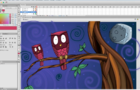 Cartoon Owls: Illustration Recording